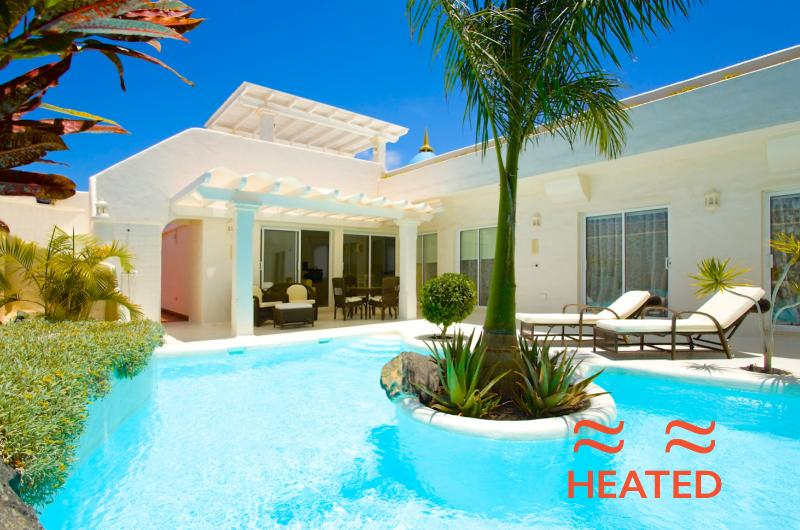The pool is heated from 1st November until 1st June every year