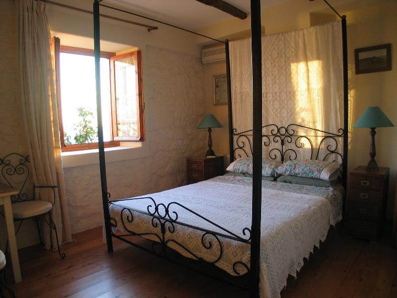 The main bedroom with large double bed