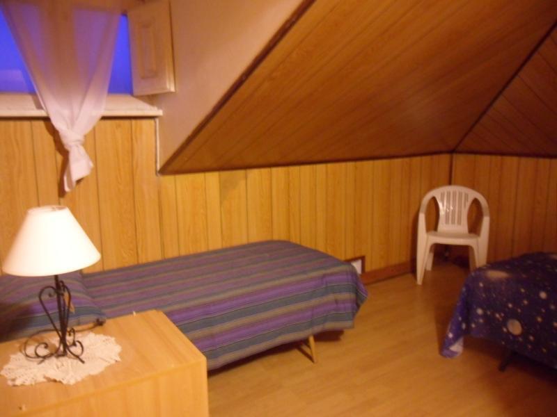 1 single bedroom in the attic