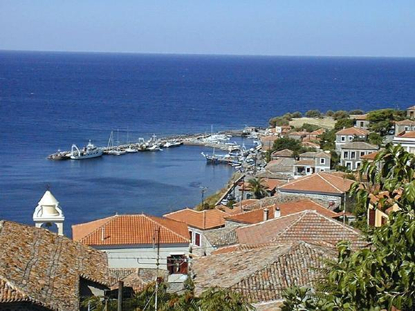 View of harbour from the house