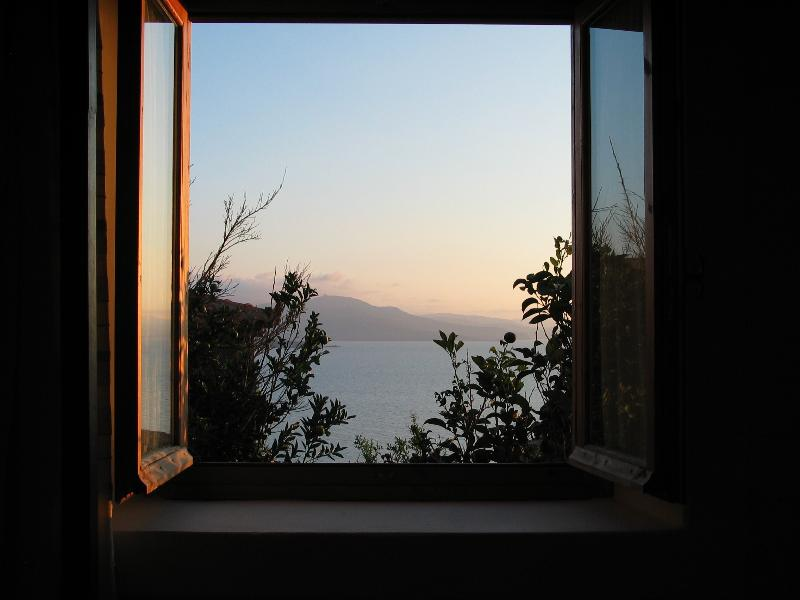 Window from main bedroom