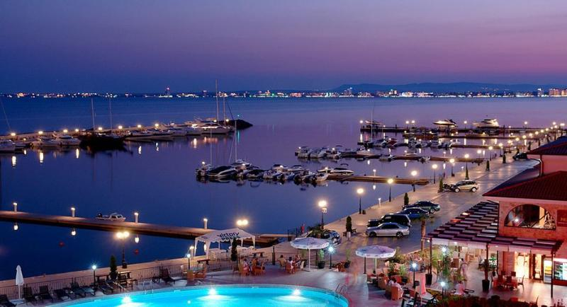 St Vlas Marina (only 5 mins away in taxi/bus)