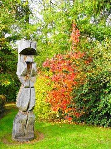 jardin de pierre en automne
