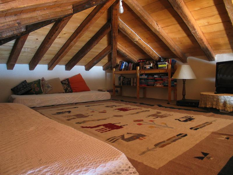 Loft with TV and DVD player