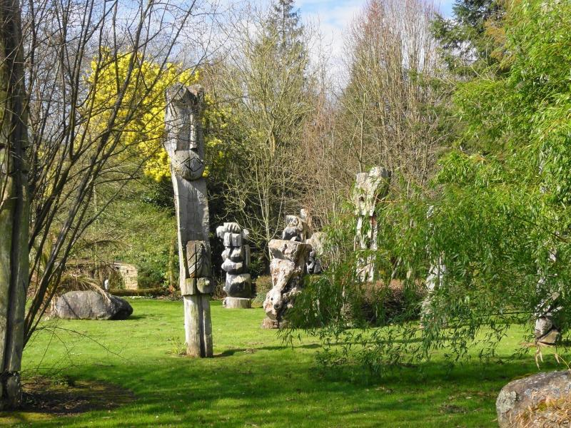 The scuptures the stone garden