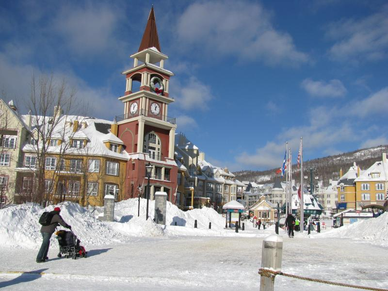 Tremblant Resort in winter
