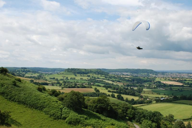 From Coaley Peak {15 min drive},see stunning views over the Severn to the Welsh mountains.