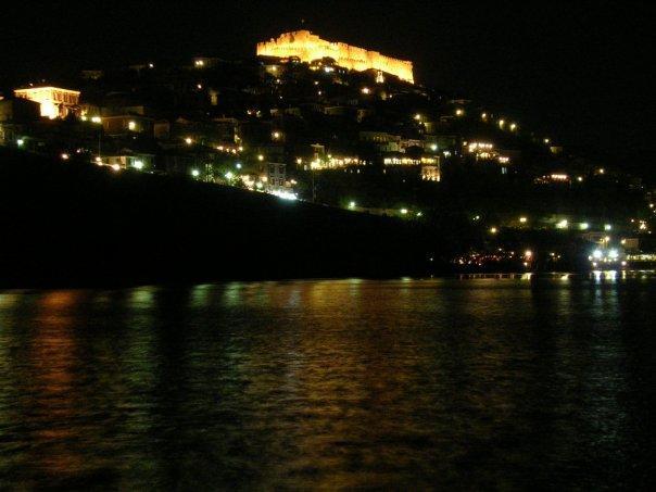 Molyvos by night