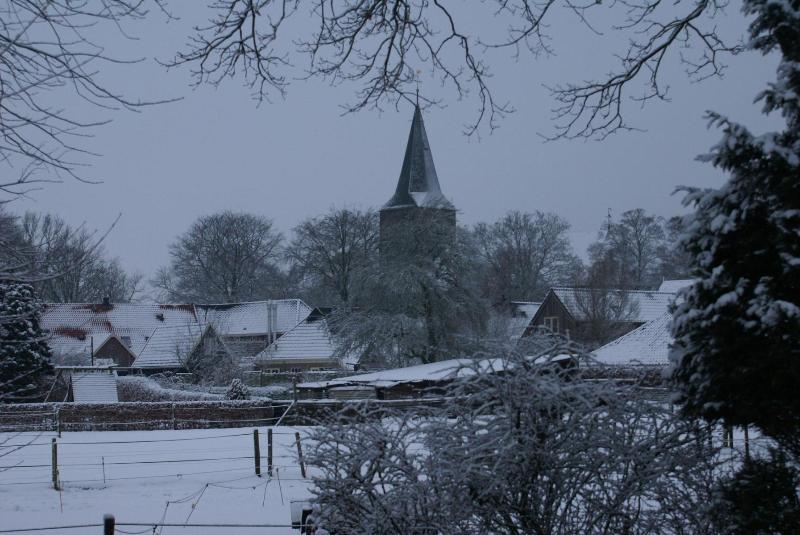 Diever village in winter