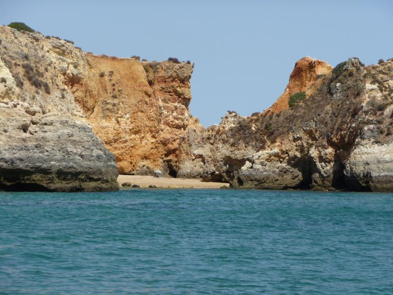 Take a boat trip to explore the stunning coastline