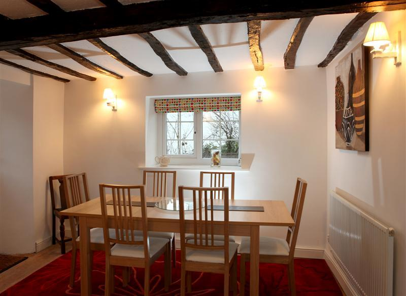 Dining Room- wooden floors and beams