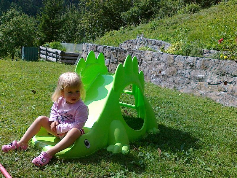 Children can play in our garden