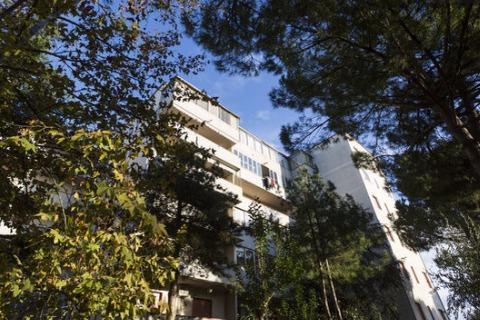 El sexto piso. vistas al campo tranquilo