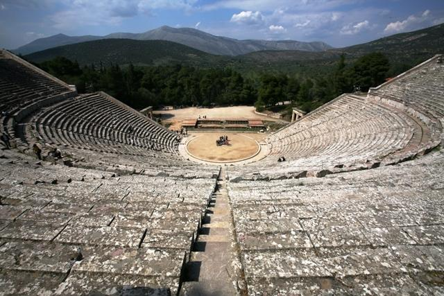 Historic site of Epidavros which is well worth visiting