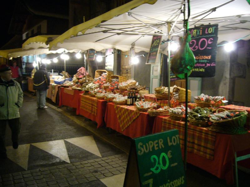 Evening Market - Morillon High Street