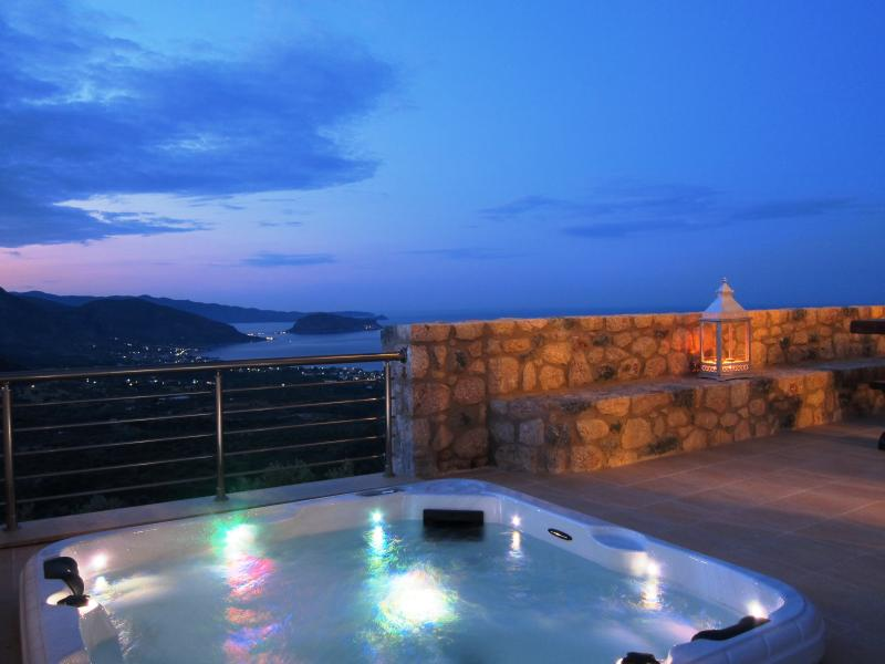 Spa View to Monemvasia Castle