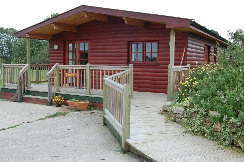 Deer Walk, one of six other cabins which can be viewed on Wall Eden farms website