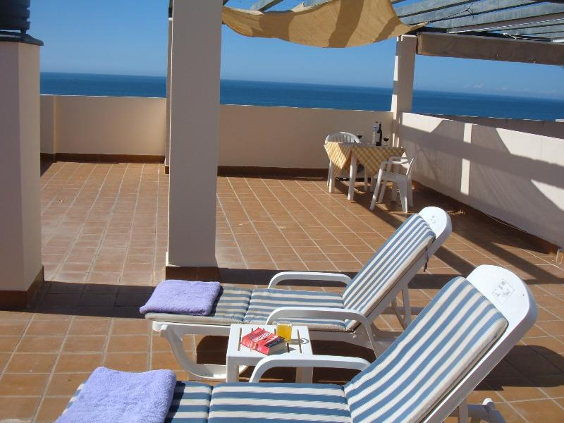 Penthouse with sea views WIFI, holiday rental in Marbella