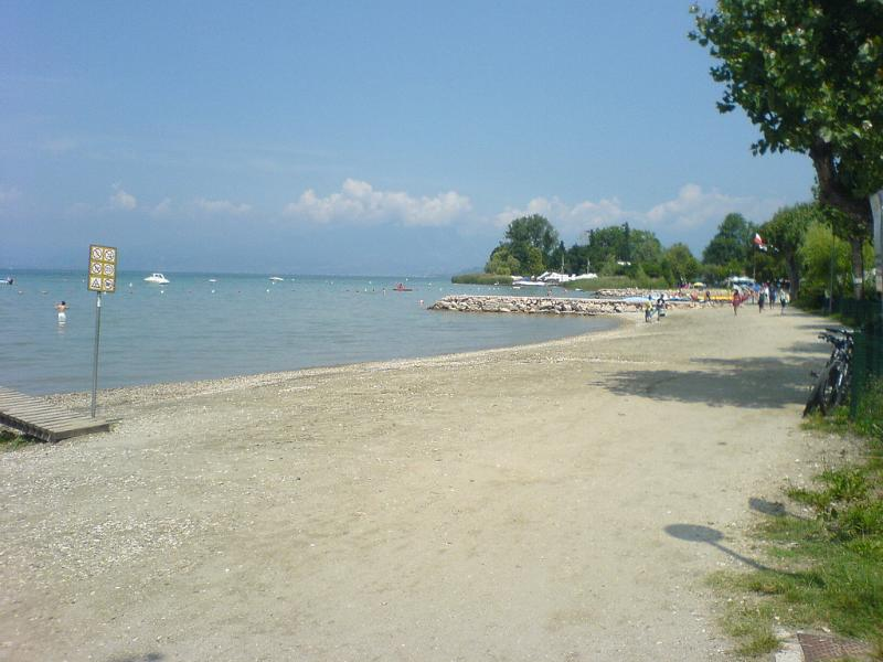 One of the nearest  beach  on the lake