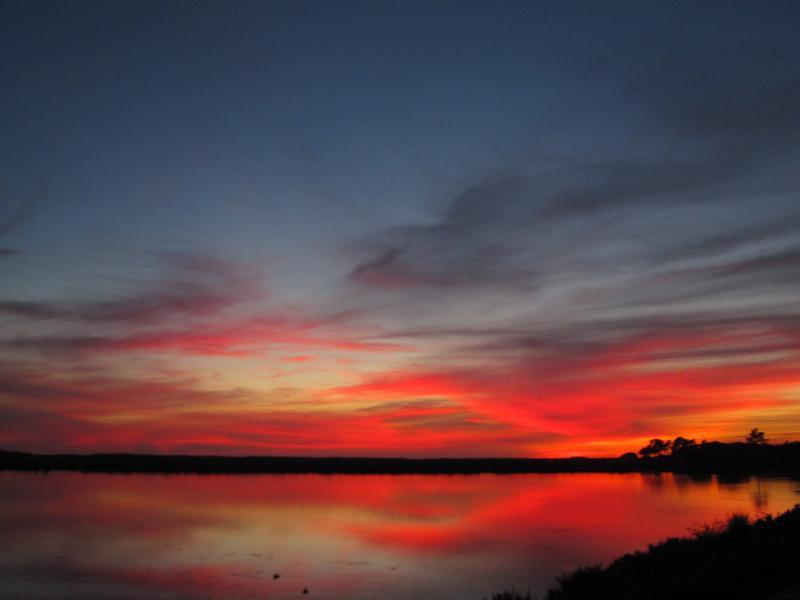 Sunset over Salema
