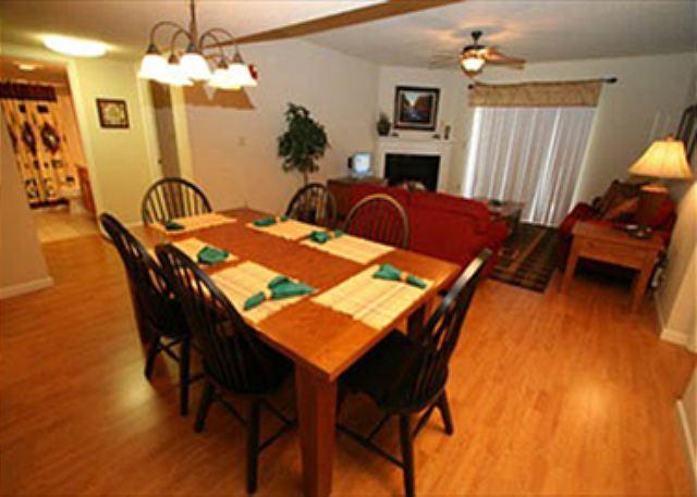 Dining Table for 6 and hardwood floor