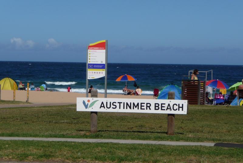 The award-winning patrolled beach