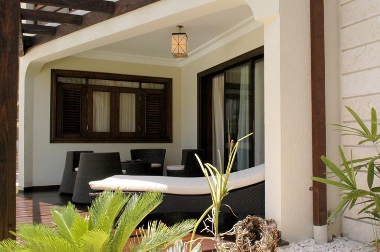 Il balcone della suite Royal