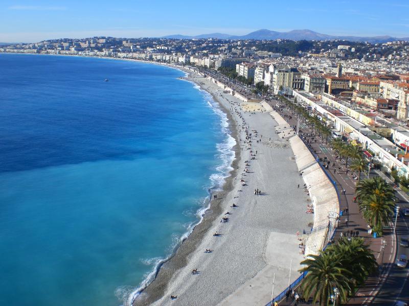 Beach promenade des Anglais