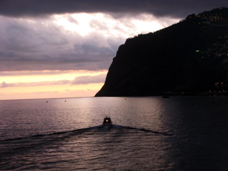 Cabo Girao at night