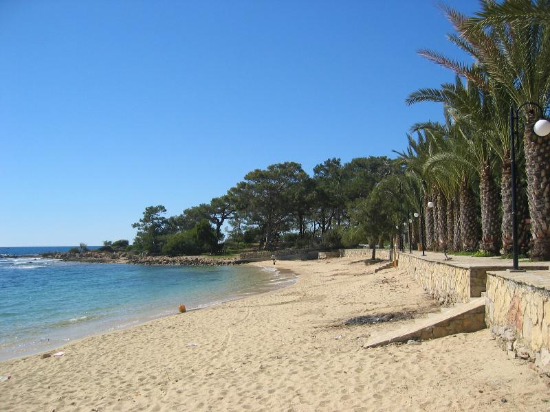 One of the local beaches
