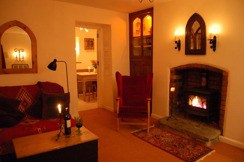 Moonstone Cottage by candlelight