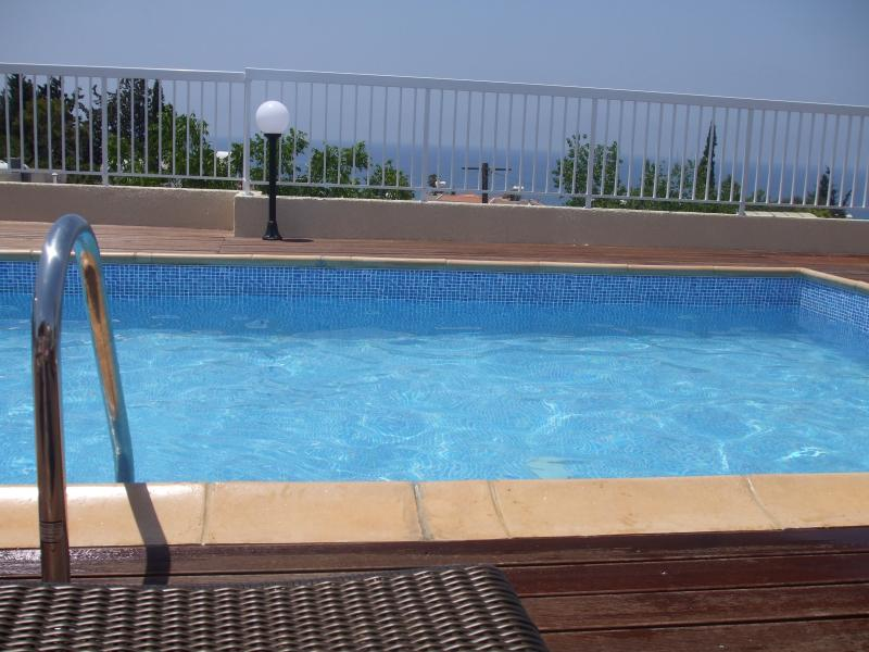 Unique roof top pool