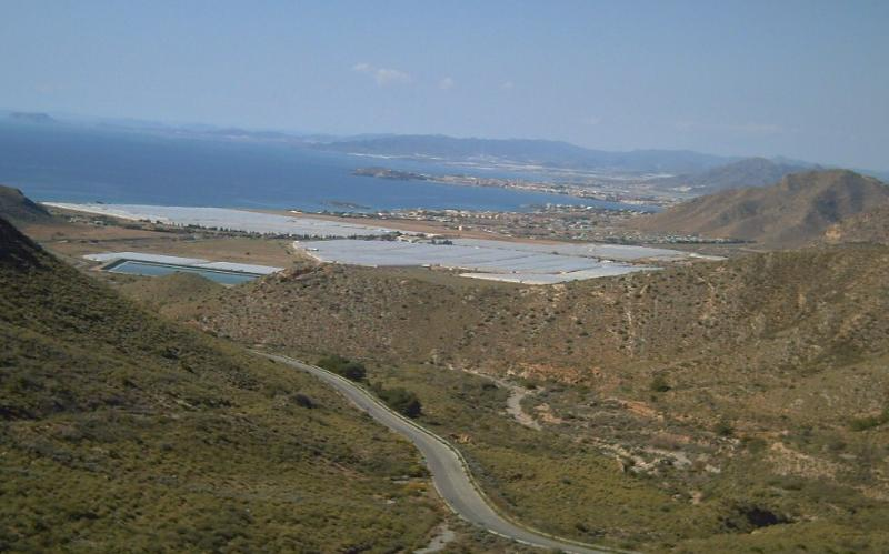 Mazarron Bay view from viewing point
