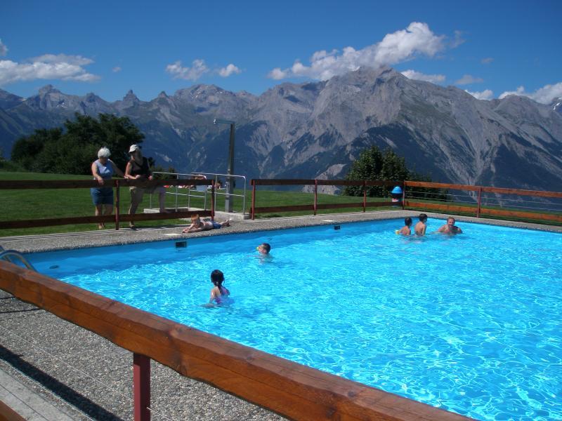 The swimming pool in Nendaz