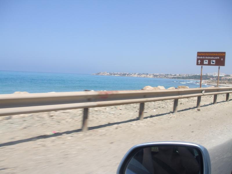 Main coastal road into Coral Bay