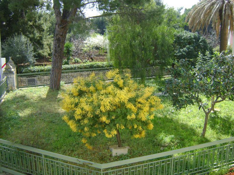 vista dal balcone del soggiorno