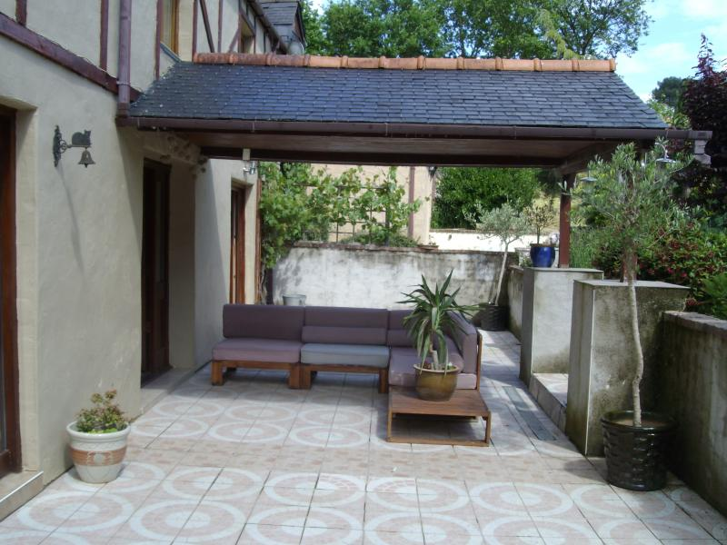 Front Patio and Canopy