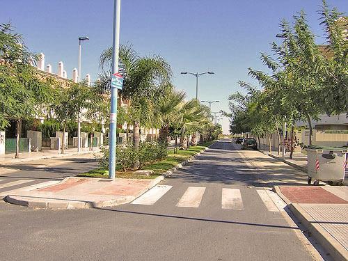 Prolongación de la Calle Castilla. Zona nueva.