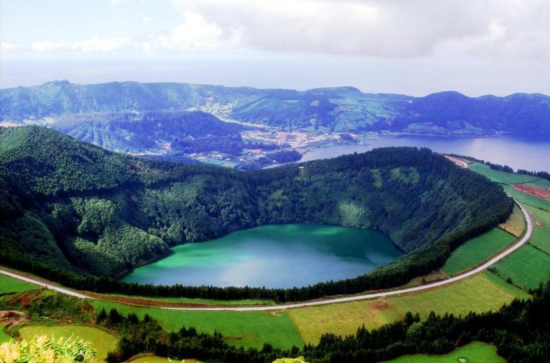 Lagoa das Sete Cidades (algumas fotografias da Ilha S. Miguel)