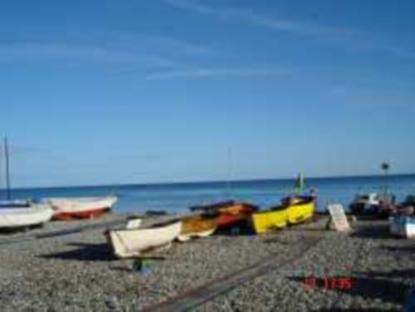 Bateaux de pêche sur Beer Beach!