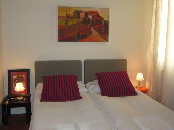 Double bedroom with option of two singles or double