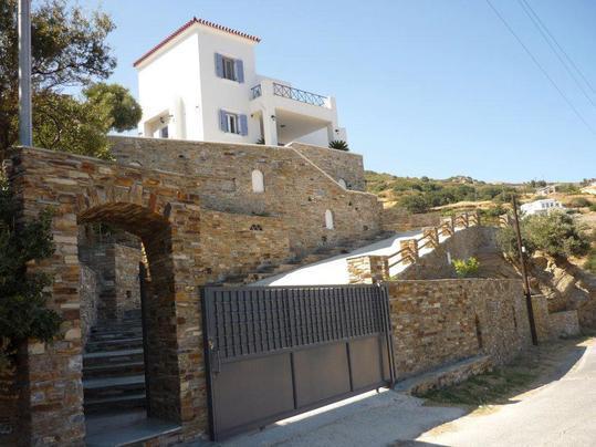 MAIN HOUSE OF THE 'DIAMOND OF THE AEGEAN SEA'