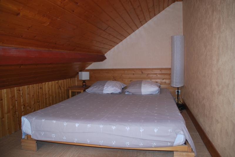 La mezzanine (avec un lit double)