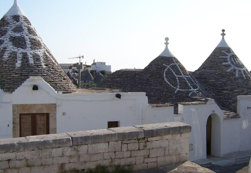 One of the many Trulli houses at Alberobello