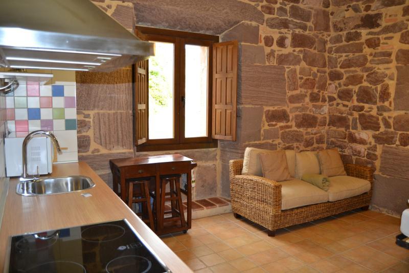 Sala de estar/jantar apartamento La Encina