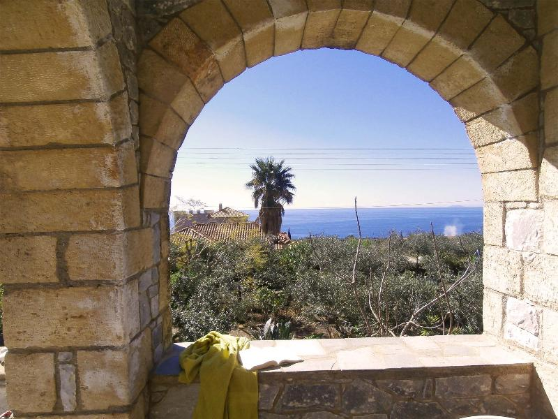 The view from the veranda