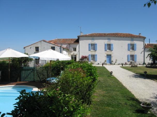 Main house, gite and gardens