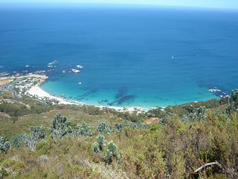 Clifton Beach desde el Lions Head