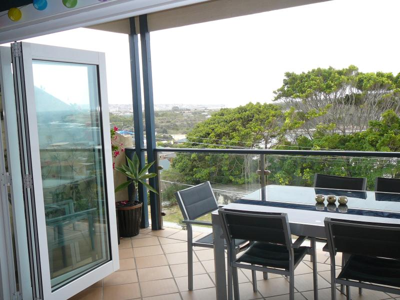 Views over Maroubra. Double-glazed bi-fold doors which open out completely