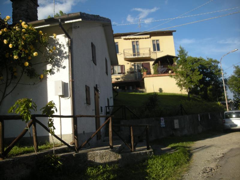 vista facciata laterale